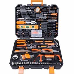 CARTMAN Tool Set 168Pcs Orange, General Household Hand Tool