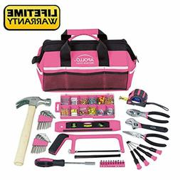 Apollo Tools 201 Piece Household Tool Kit in a Soft-Sided To