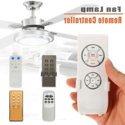 Universal 220-240V Ceiling Fan Light Lamp Remote Control & R