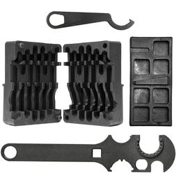 Upper Lower Vise Block Wrench Armorer's Tool Kit - 4PCS SET