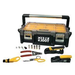 Klein Tools VDV001-833 VDV ProTech Data & Coaxial Kit with T