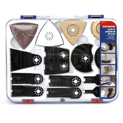 WORKPRO 24-Piece Oscillating Accessory Kit Mixed Multitool S