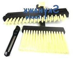 New Wallpaper Tool Kit Brush Squeegee Knife Seam Roller smoo