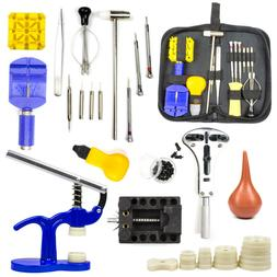 Watch Repair Tool Kit Link Remover Spring Bar Tool Case Open