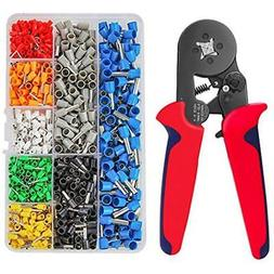 Wire Crimpers Crimping Tool Kit, Ferrule Plier Tools With 80