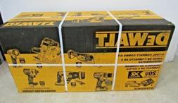 DEWALT XR 6-Tool 20-Volt Max Lithium Ion Brushless Cordless
